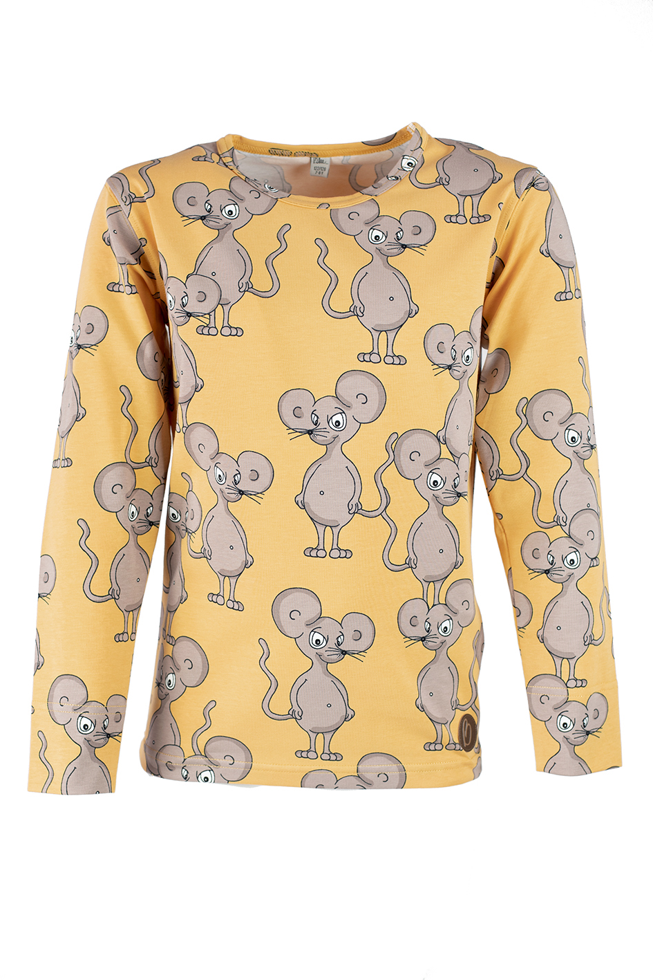 BILBO Shirt, Mouse Yellow