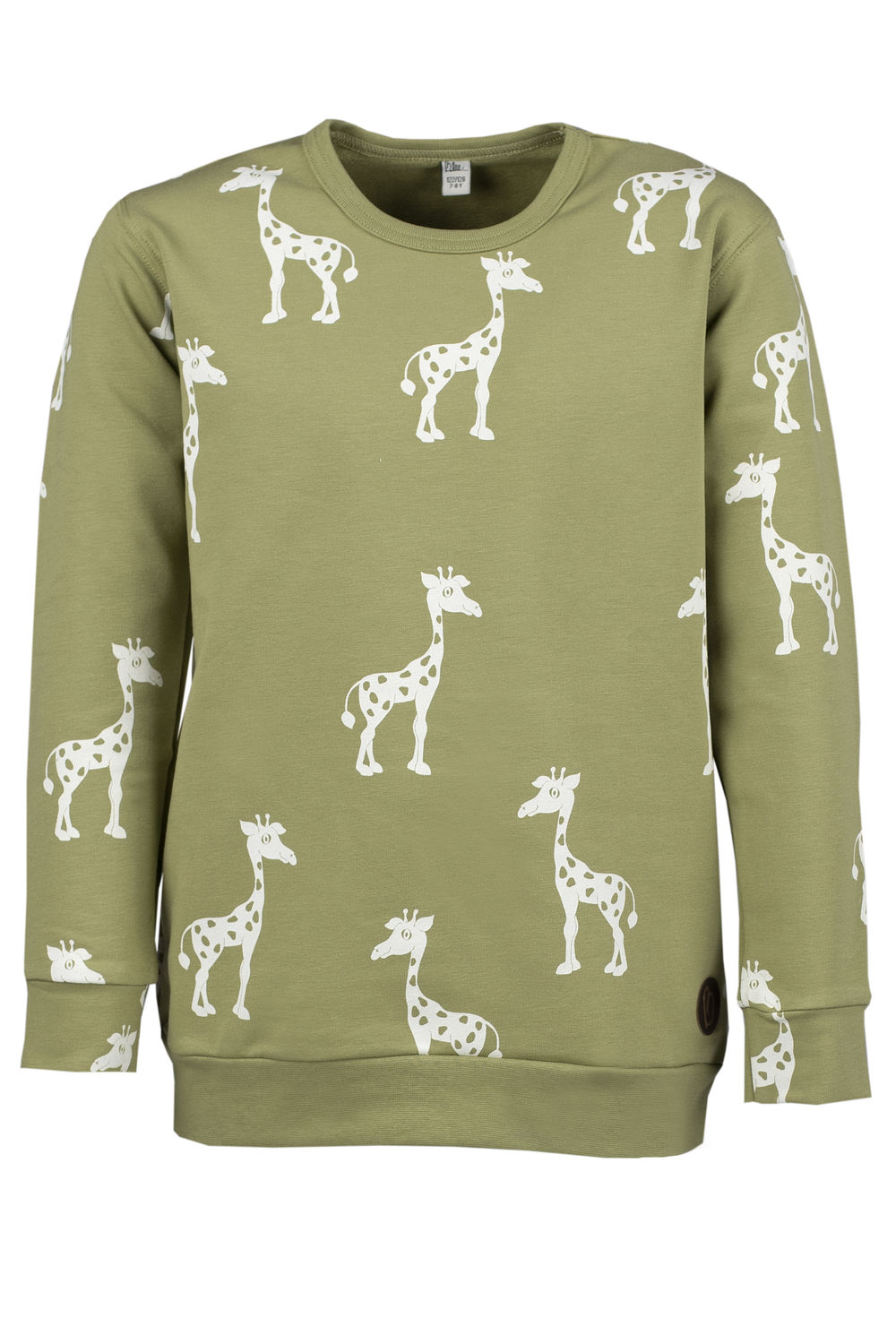KISSI College Sweater, Giraffe Olive