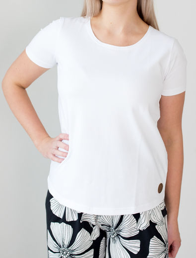 SHANGHAI  T-Shirt, White