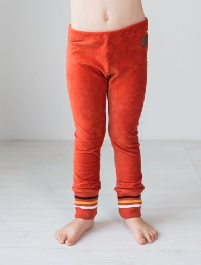 PEINE Corduroy  Leggings, Burnt Ochre