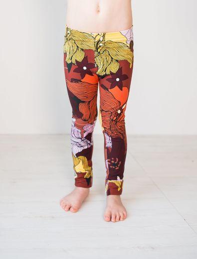 PARIS Leggings, Flower Field