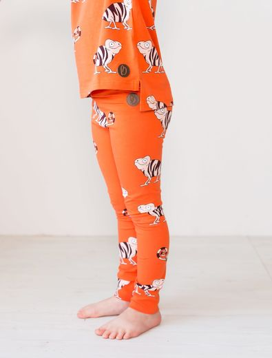PARIS Leggings, Chameleon Orange