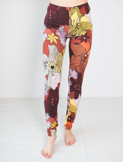 MIAMI Leggings, Flower Field