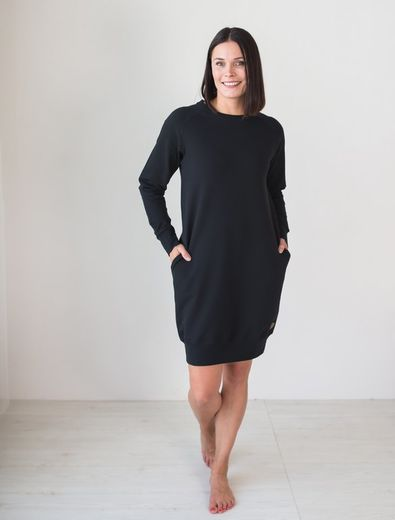 PHILADELPHIA College Tunic, Black