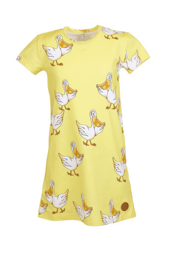 AURORA T-Shirt Dress, Pelican Yellow
