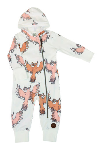 MILAN Jumpsuit, Fairytale Bird Peach