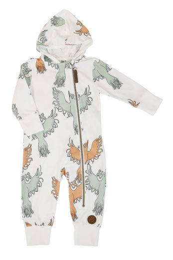 MILAN Jumpsuit, Fairytale Bird Green