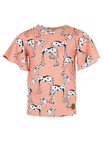 ROSKILDE Shirt, Dog Peach