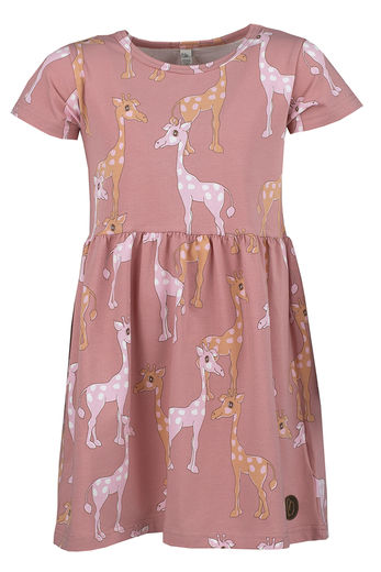 AVOLA  Dress, Giraffe Rosa