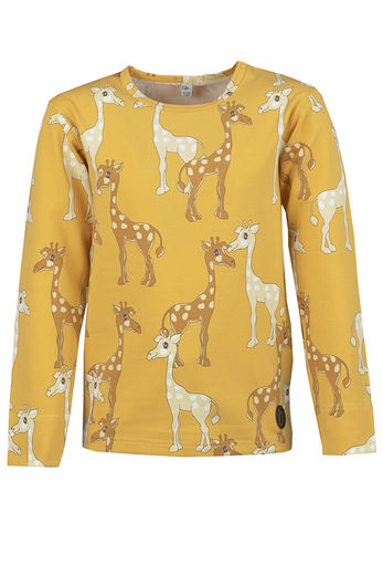 BILBO Shirt, Giraffe Yellow