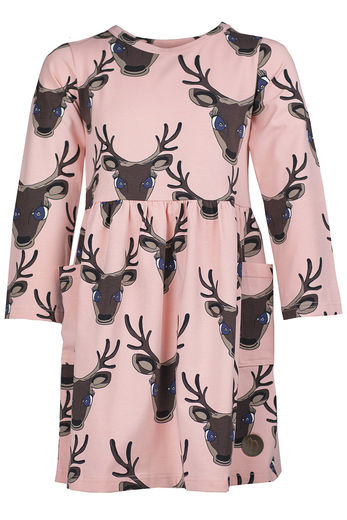 FORE Pocket Dress,  Deer Pink