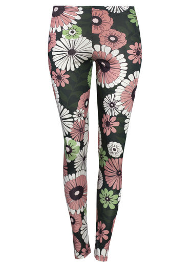 MIAMI Leggings, Retro Flower