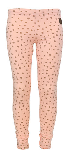 PARIS Leggings, Dot Peach