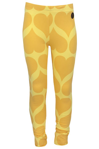 PARIS Leggings, Hearts Yellow