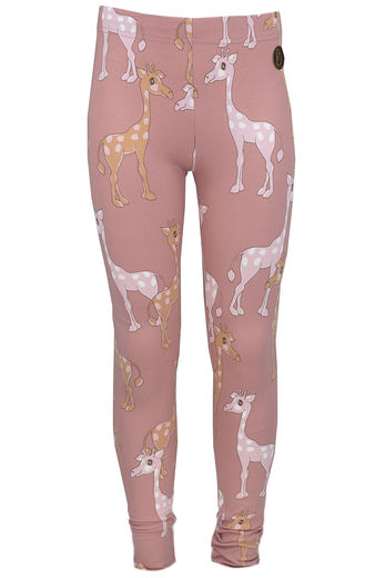 PARIS Leggings, Giraffe Rosa