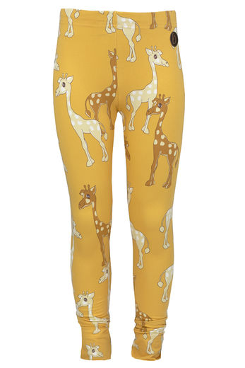 PARIS Leggings, Giraffe Yellow