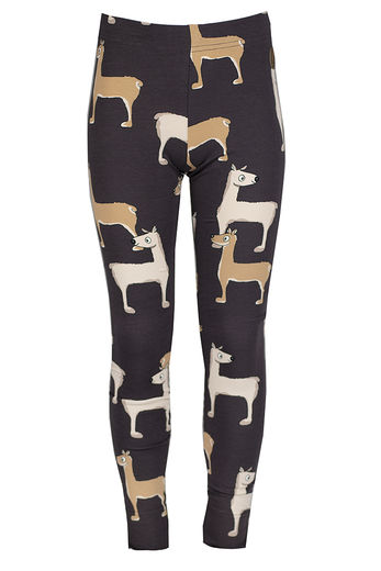 PARIS Leggings, Llama Brown