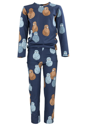 PYJAMAS, OWL BLUE