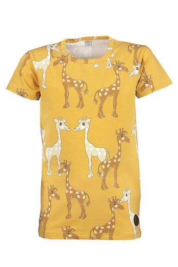SYDNEY T-Shirt, Giraffe Yellow