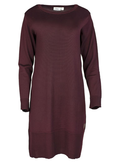 VILNA Merinowool Dress, Lila