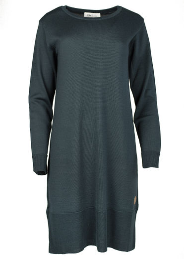 VILNA Merinowool Dress, Green