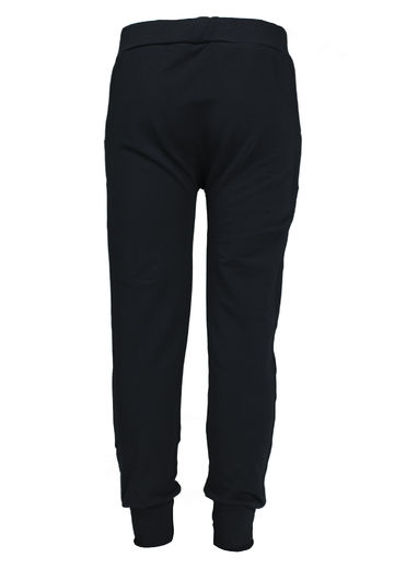 VALLETTA Baggy College Pants, Black