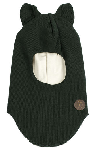 BALACLAVA MERINOWOOL, CAT GREEN
