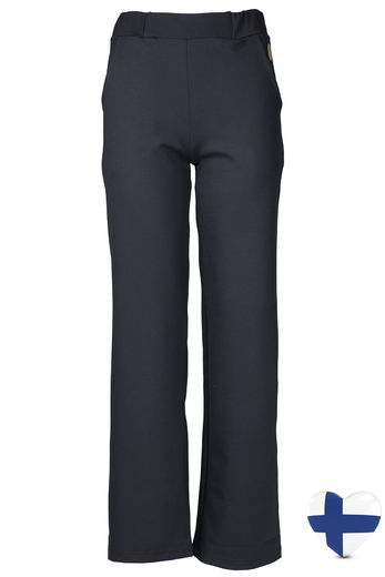 SUOMI-LOKKA Pants, Black (inside seam 73 cm)
