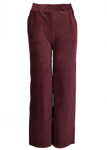 LUGO Corduroy Pants, Chocolate, normal inner lenght 82 cm