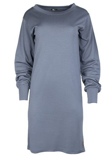 PRISTINA Merinowool dress, Dark Slate