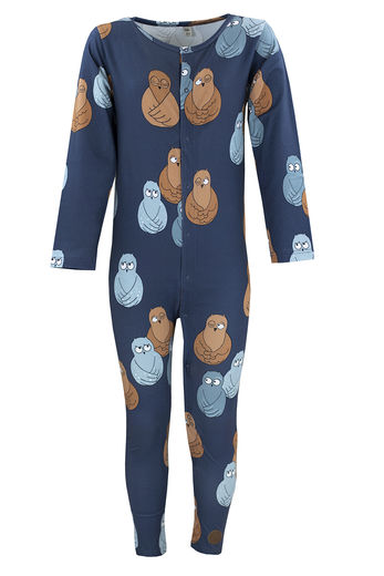 NIGHT JUMPSUIT, OWL BLUE