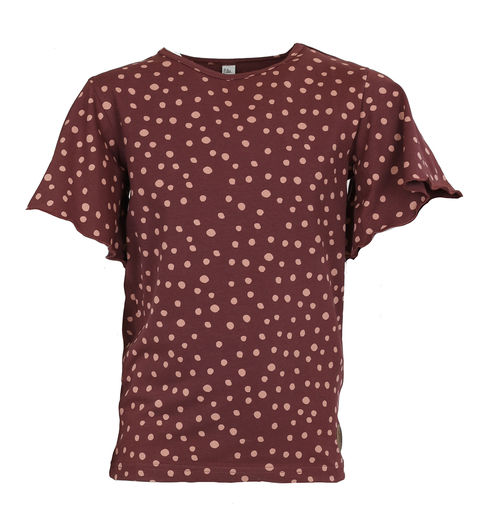 ROSKILDE Shirt, Dot Brown