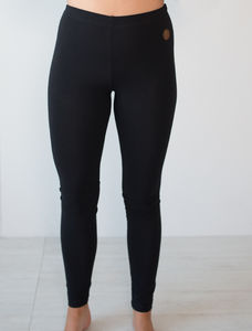 MIAMI LEGGINGS, BLACK