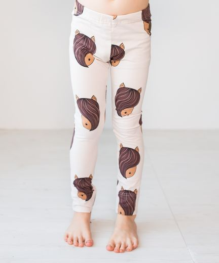 PARIS Leggings,  Pony Gray