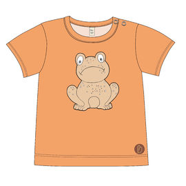 SYDNEY T-shirt, placeprint Frog Peach